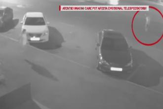 Un barbat a murit pe loc dupa ce a fost lovit in plin de o masina. Camerele stradale au surprins momentul accidentului