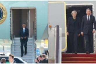 Covor rosu pentru liderii lumii, prezenti la Summit-ul G20 din China, mai putin pentru Barack Obama. Incidente la aeroport