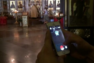 Un blogger rus a fost arestat pentru ca juca Pokemon Go in biserica.
