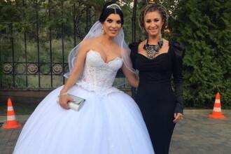 Anamaria Reghecampf a dat o avere pe rochia de nasa, la nunta Andreei Tonciu. Cu ce si-a dus Reghe fina la biserica