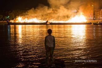 Spectacol in Londra, la 350 de ani de la incendiul care a distrus orasul. 13.000 de cladiri au ars atunci