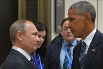 Intalnire intre Barack Obama si Vladimir Putin, in China. SUA si Rusia nu au reusit sa ajunga la un acord privind Siria