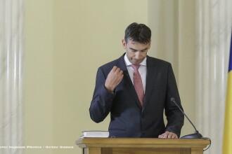 Dragos Tudorache a depus juramantul de investitura in functia de ministru de Interne. Iohannis: Urmeaza o