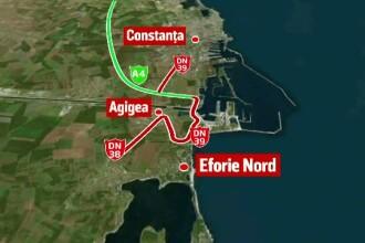 Circulatia rutiera pe podul de la Agigea va fi inchisa in perioada 12 septembrie - 30 noiembrie. Care va fi ruta ocolitoare