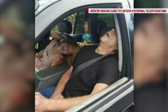 Imaginile surprinse de politistii din Ohio au ingrozit o lume intreaga. Cum au fost gasiti in masina parintii unui copil