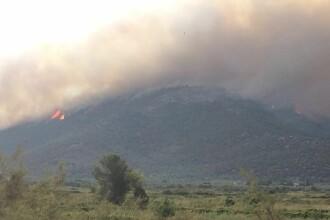 Grecia a instituit stare de urgenta in insula Thasos din cauza incendiilor de vegetatie. Avertismentul dat de MAE