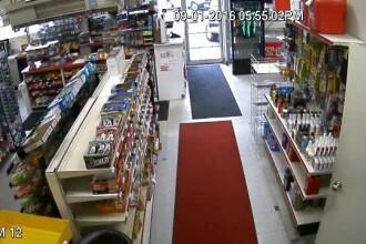 Intamplare neobisnuita in Connecticut. Un barbat a fost victima unui accident auto in timp ce era intr-un ... magazin