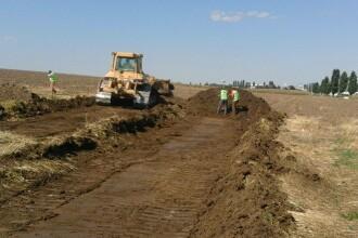 Au inceput lucrarile la PRIMA autostrada din Moldova. Un proiect vechi de 15 ani s-a impiedicat intr-un sat de acum 6 milenii