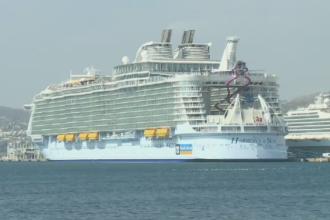 Accident mortal in Marsilia, pe cel mai mare vas de croaziera din lume. Un navigator a murit, alti 4 sunt raniti