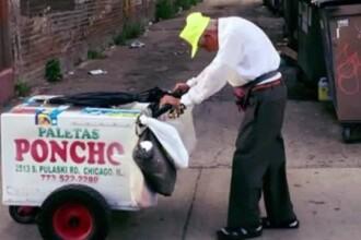 La 89 de ani s-a intors la munca pentru a-si creste nepotii. Cati bani au donat oamenii pentru el dupa ce i-au aflat povestea