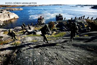 Suedia ia masuri de aparare impotriva Rusiei.
