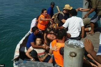 Explozie pe un feribot, in Indonezia. Doi turisti au murit, iar 13 au fost raniti. VIDEO