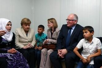 Angela Merkel, invinsa de refugiati. De ce nu vor companiile germane sa angajeze imigranti