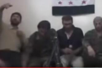 A vrut sa faca un selfie, dar a uitat ca telefonul era conectat la o bomba. Momentul in care un sirian se arunca in aer.VIDEO