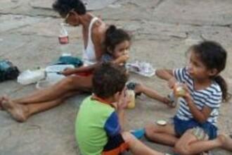 Imagini cutremuratoare surprinse in Venezuela. Jumatate din populatie traieste intr-o saracie greu de descris. FOTO