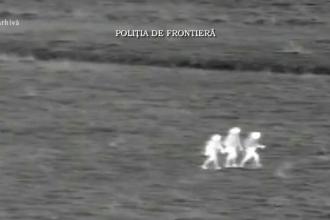 Un grup de migranti, prinsi la granita, in timp ce incerca sa intre ilegal in Romania. Care era destinatia finala