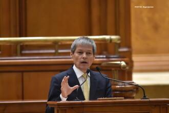Premierul a prezentat in Parlament