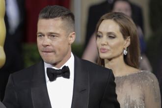 Angelina Jolie si Brad Pitt vor apela la un judecator privat in divortul lor