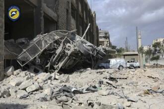 Noi bombardamente in Siria, asupra cartierelor controlate de rebeli. Cel putin 27 de civili, intre care 3 copii, ucisi
