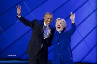 Barack Obama critica FBI-ul si le cere americanilor sa o voteze pe Hillary Clinton.