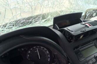 Tragedie in Romania. Ce imagine a surprins un martor la bordul masinii implicate in accident