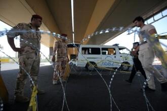Sapte morti si 28 de raniti, dupa un atentat sinucigas in Bagdad. Un jihadist s-a detonat pe o strada populata