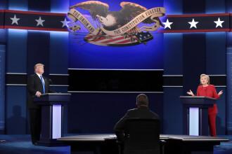 America dezbate cine bate: taxele si nasul lui Trump vs emailurile si sanatatea lui Clinton. Cine a castigat primul duel
