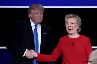 Prima confruntare dintre Hillary Clinton si Trump, cea mai urmarita dezbatere din istoria SUA.