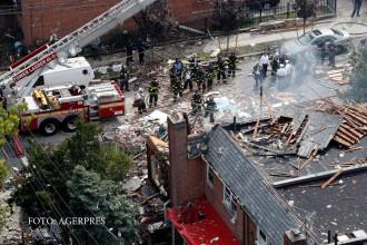 Explozie in New York, la un laborator de producere a drogurilor. Un comandant al pompierilor a fost ucis