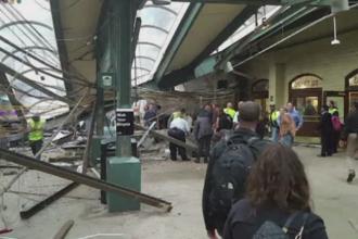 Cauza accidentului feroviar din New Jersey. O femeie a murit si 108 oameni au fost raniti dupa ce trenul s-a urcat pe peron