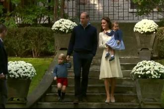 Ce i-a fascinat pe copiii lui William si Kate la o petrecere, in Canada. Animalele cu care s-au jucat cei doi