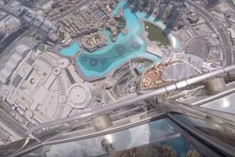 Si-a aruncat iPhone-ul 7 de pe cea mai inalta cladire din lume. Ce s-a intamplat la impactul cu solul. VIDEO