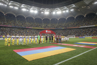 România 1-0 Armenia. Victorie chinuită cu un gol în prelungiri, spectatorii au scandat