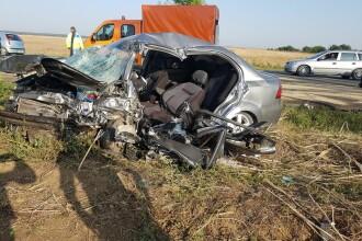 Filmul accidentului de pe DN 2, lângă Bucureşti. Cum s-a petrecut tragedia