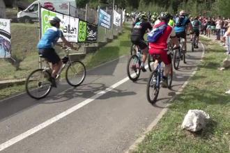 Concurs de ciclism pe Transalpina. Cine a câștigat cursa