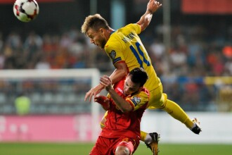 MUNTENEGRU - ROMÂNIA 1-0. Gol Jovetic și România spune ADIO Campionatului Mondial din Rusia
