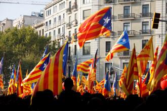 Referendum pentru independenţa Cataloniei, pe 1 octombrie. Madridul ia măsuri