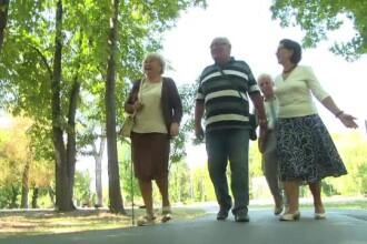 Orașul în care pensionarii se pregătesc să devină polițiști