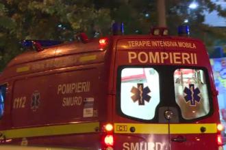 Accident tulburător în Bârlad. O femeie gravidă, printre răniți