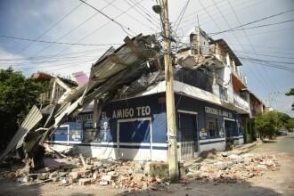 Bilanţul seismului din Mexic a ajuns la 96 de morţi