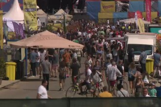 Street Food Festival: calamar pe grătar, rapane și midii pe plită