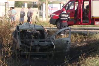 Accident grav la ieșirea din Buzău. Șoferul a murit carbonizat