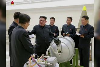 Coreea de Nord, sancționată de Consiliul de Securitate al ONU