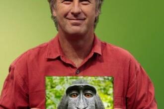 Un fotograf britanic a obținut drepturi de autor asupra unui selfie al unei maimuțe