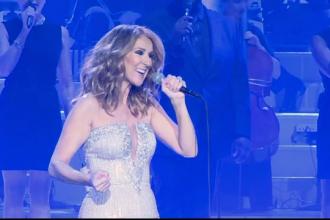 Celine Dion a pozat dezbrăcată pentru o celebră publicație