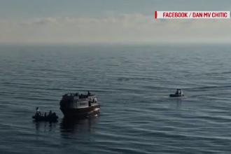 Ambarcațiune cu 120 de migranți plutește în derivă în largul Mării Negre