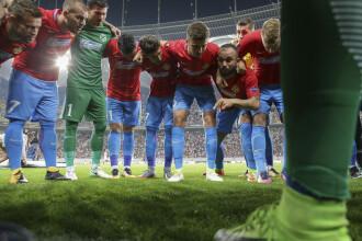 Steaua 3-0 Viktoria Plzen. Spectacol făcut de steliști pe Arena Națională
