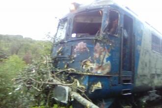 Mecanicul trenului Bucureşti-Baia Mare a curăţat şina cu drujba. Reacţia pasagerilor
