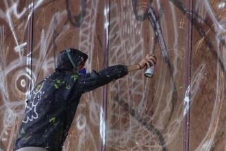 Zidurile halelor industriale din Iași, opere de artă. Cum arată după un festival de street art