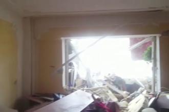 În urma exploziei de la Botoșani, peste 20 de persoane nu au adăpost